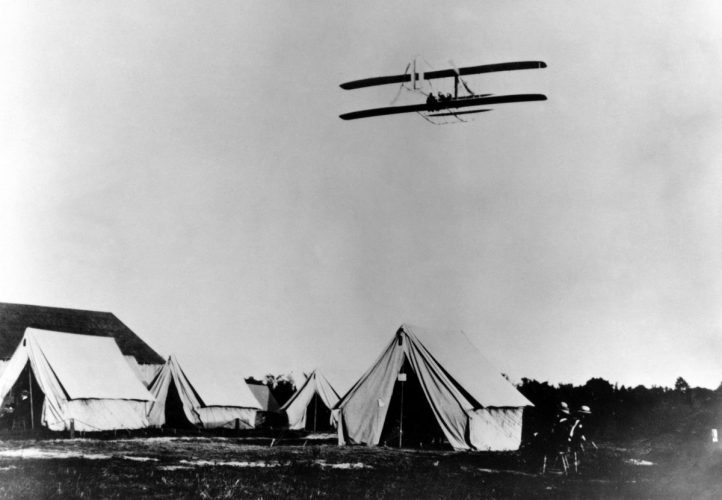 """1909 WRIGHT BROTHERS """"MILITARY FLYER"""" FORT MEYER, VA"""